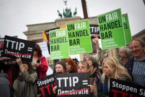Anti-TTIP-Proteste  - Foto © Mehr Demokratie - CC BY-SA 2.0