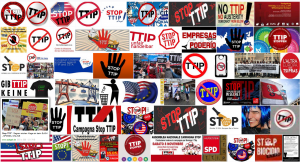 Proteste gegen TTIP im Internet