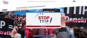 Stop TTIP - Titelseite