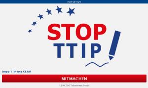 Stop TTIP - logo