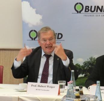 Hubert Weiger, BUND - Foto © Gerhard Hofmann, Agentur Zukunft