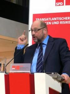 Martin Schulz im Willy-Brandt-Haus - © Gerhard Hofmann, Agentur Zukunft