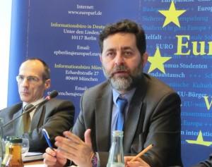 Rupert Schlegelmilch, GD Handel und TTIP-Chefunterhändler Bercero  EU-Kommission - Foto © Gerhard Hofmann, Agentur Zukunft