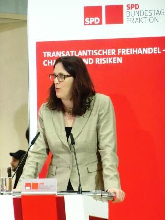 Cecilia Malmström, Foto © Gerhard Hofmann, Agentur Zukunft