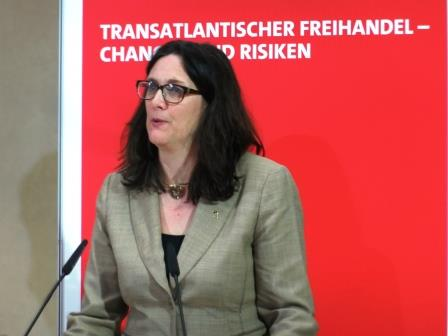 Cecilia Malmström - Foto © Gerhard Hofmann, Agentur Zukunft