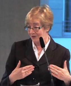 Maude Barlow in der Heinrich-Böll-Stiftung. Foto © Heinrich-Böll-Stiftung_Creative Commons