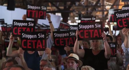 CETA-TTIP-Protest - Screenshot © campact.de
