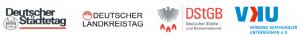 Städtetag, Landkreistag, Städte- u. Gembd., VKU logos