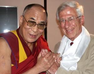 Dalai Lama mit Fran Alt - Foto © Bigi Alt