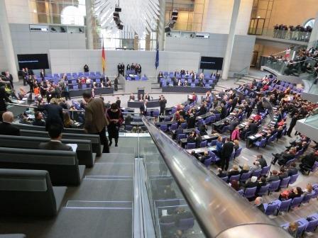 Bundestagsplenum  - Foto © Gerhard Hofmann, Agentur Zukunft