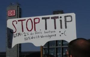 Anti-TTIP-Demo 1 - Foto © Gerhard Hofmann, Agentur Zukunft