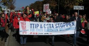 Anti-TTIP-Demo 10 - Foto © Gerhard Hofmann, Agentur Zukunft