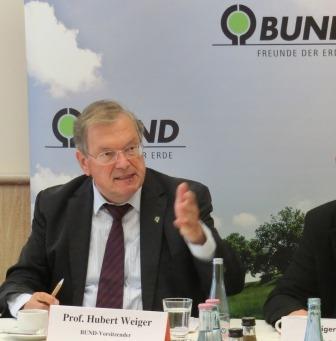 Hubert Weiger, BUND-Vorsitzender - Foto © Gerhard Hofmann, Agentur Zukunft
