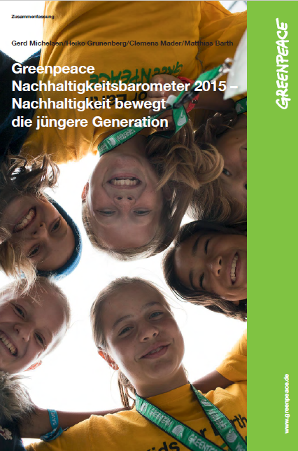 Greenpeace-Studie Nachhaltigkeit bewegt die Jugend