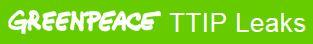 Greenpeace TTIP leaks logo