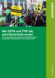TTIP Gentechnik Titel