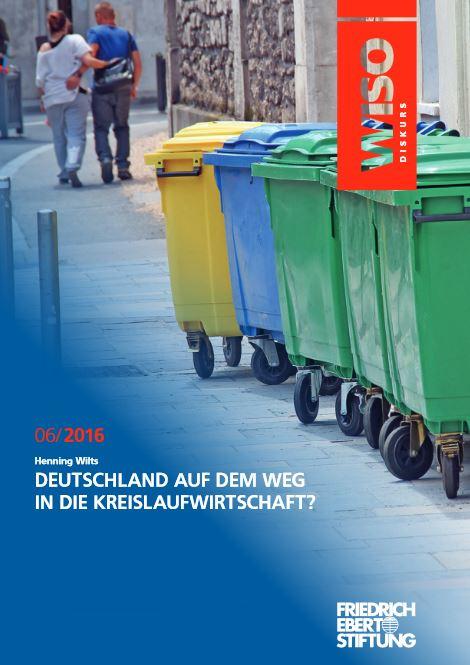 WISO-Diskurs Deutschland auf dem Weg in die Kreislaufwirtschaft Titel