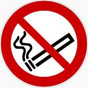 Rauchverbotsschild - wikimedia