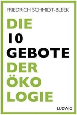 Buch von Friedrich Schmidt-Bleek - Foto © Dorle Riechert
