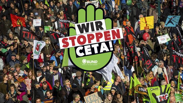 CETA-TTIP-Demonstration - Foto © bund.net