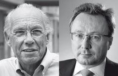 Jorgen Randers und Graeme Maxton - Foto © oekom-verlag