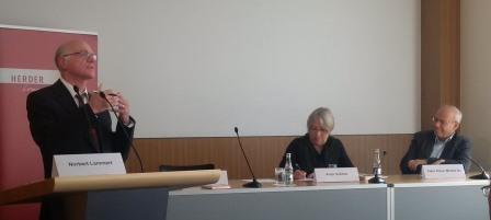 Norbert Lammert, Antje Vollmer, Klaus Mertes - Foto © Gerhard Hofmann, Agentur Zukunft  20160921