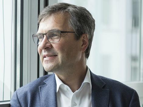 Georg Schürmann, Geschäftsleiter der Triodos Bank Deutschland - Foto © diefarbedesgeldes.de