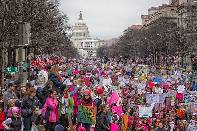 Women's March on Washington - Foto © Mobilus In Mobili - CC BY-SA 2.0, commons.wikimedia.org