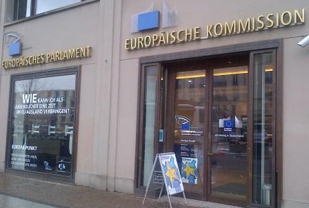 Büro von EU-Kommission unmd -Parlament Berlin - Foto © Gerhard Hofmann, Agentur Zukunft für Solarify 20130220