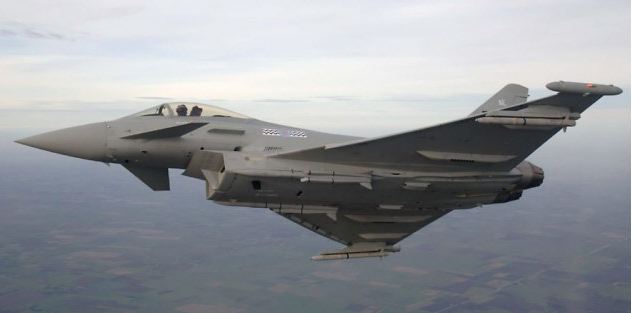 Eurofighter Typhoon - Foto © RAF
