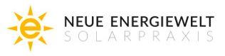 Neue Energiewelt_Solarpraxis logo