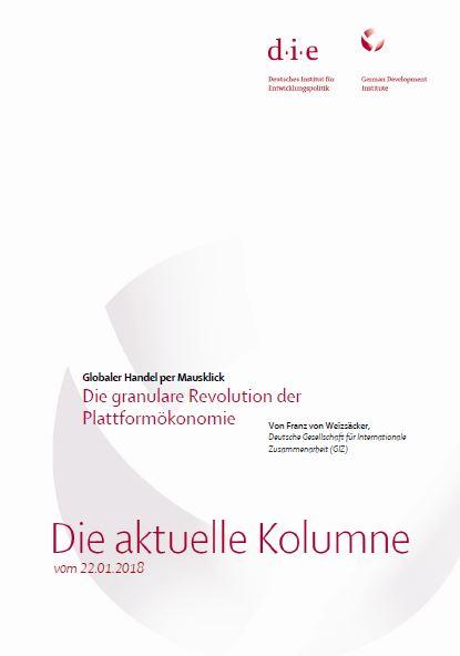 Franz von Weizsäcker - Granulare Revolution - Titel