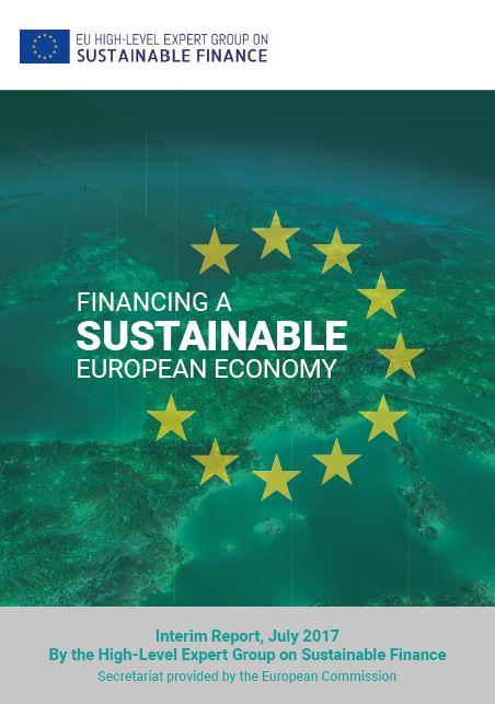 Zwischenbericht der High-Level Expert Group on Sustainable Finance - Titel