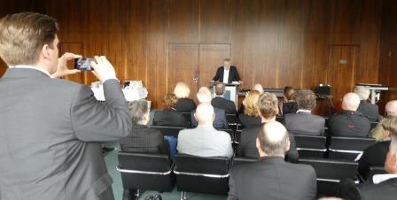 Johannes Hoffmann spricht - Foto © Gerhard Hofmann, Agentur Zukunft für FGEÖR